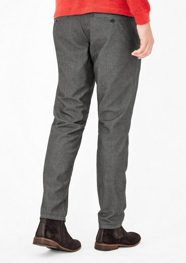 s.Oliver RED LABEL Tubx Regular: Chino mit Muster