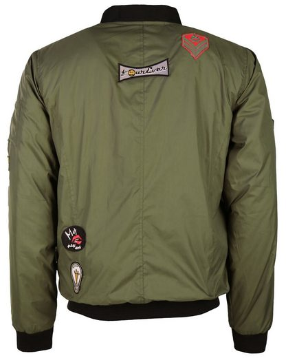 MAZE Textilblouson mit Patches Chibs