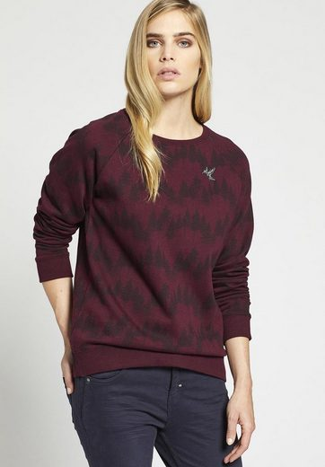 Khujo Sweatshirt Renia, With Graphic Print On Shoulders