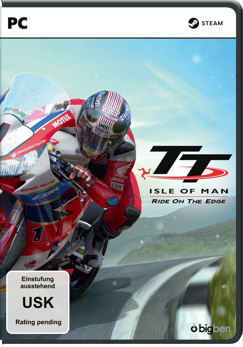 BIGBEN TT Isle of Man: Ride on the Edge »PC«