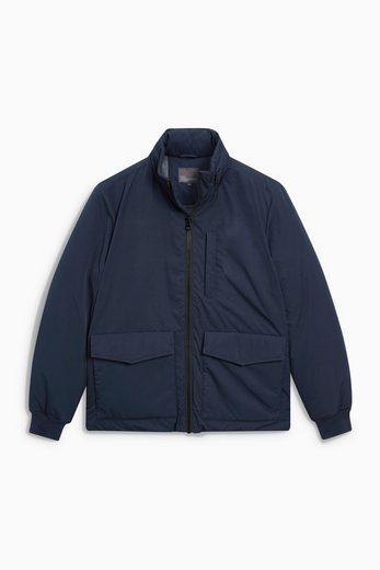 Next Jacke mit drei Taschen und Trichterkragen