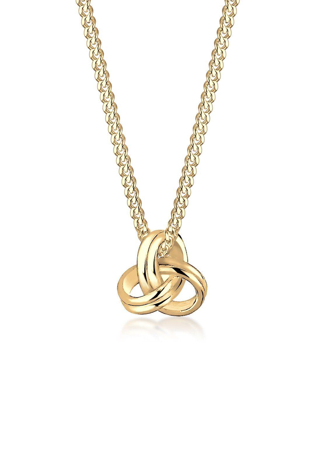 Elli Halskette »Knoten 585 Gelbgold«