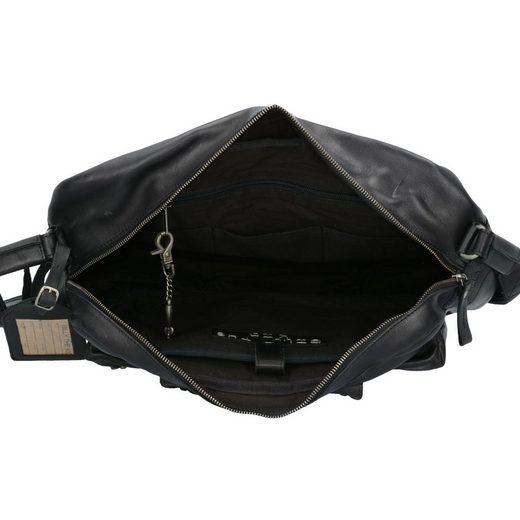 Billy The Kid Nasty Cowboys Franklin Businesstasche Leder 40 cm Laptopfach
