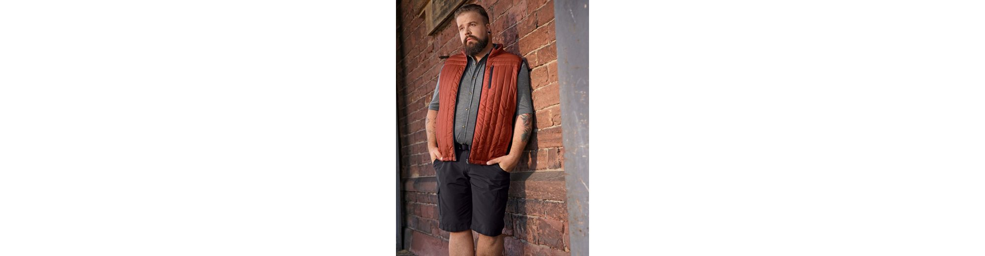 Men Plus by Happy Size Spezial-Bauchschnitt Hemd in Piqué Rabatt Heißen Verkauf Billig Ausverkauf g5FWcX