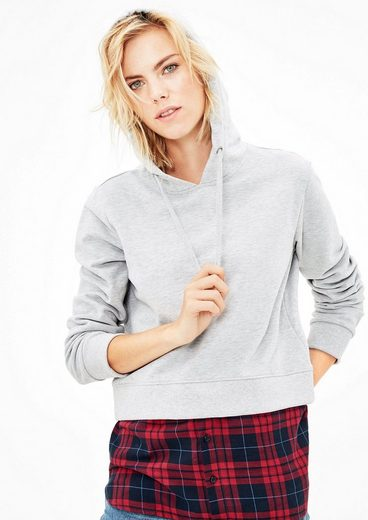 S.oliver Red Label Sweat-hoodie Im Lagen-look