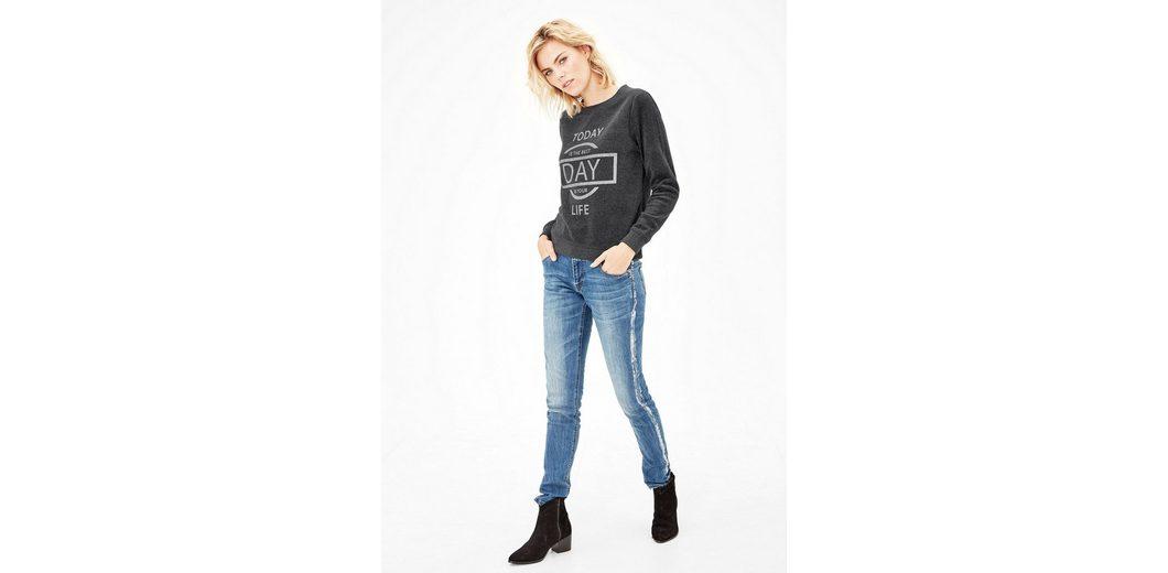 Um Online-Verkauf Größte Anbieter Verkauf Online s.Oliver RED LABEL Printshirt aus Nicki Perfekt Zum Verkauf Spielraum Finden Große Günstig Kaufen aTdfbR