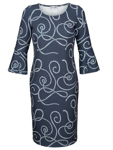 Dress In Kleid mit maritinem Knotendruck