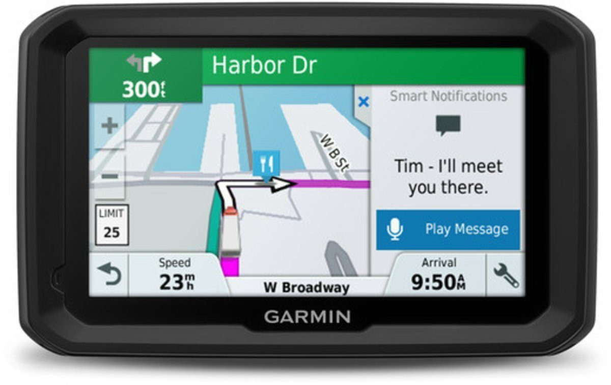 Garmin LKW-Navigationsgerät »dezl 580LMT-D EU TRUCK«