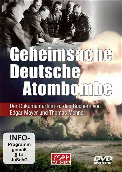 DVD »Geheimsache Deutsche Atombombe, DVD«