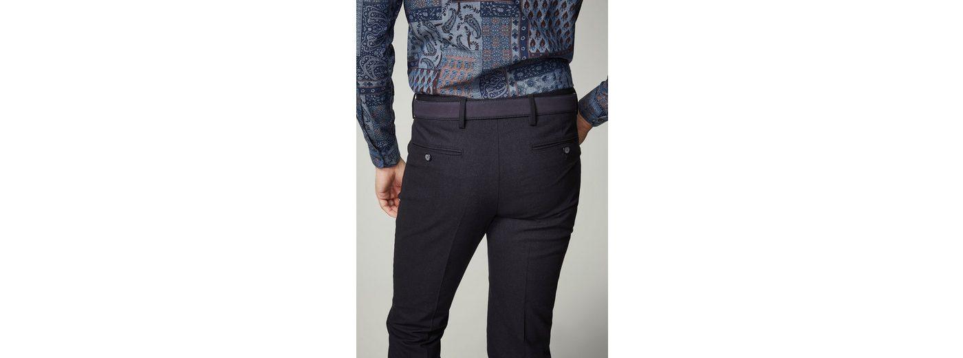 Amazon Günstiger Preis Einkaufen Outlet Online PIERRE CARDIN Hose in Fischgrat-Struktur mit Bügelfalte - Regular Fit Robert Rz65T7T