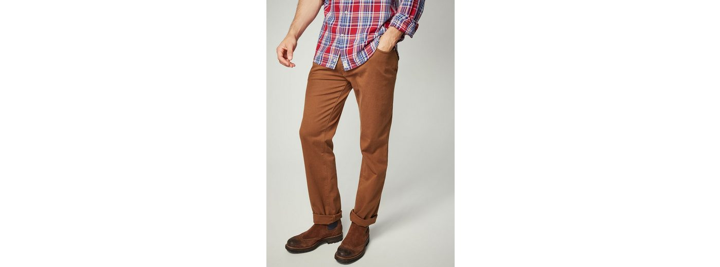 Real Für Verkauf Heiß PIERRE CARDIN Cosy Cotton Hose mit Birdseye-Struktur - Regular Fit Deauville jwR9kI
