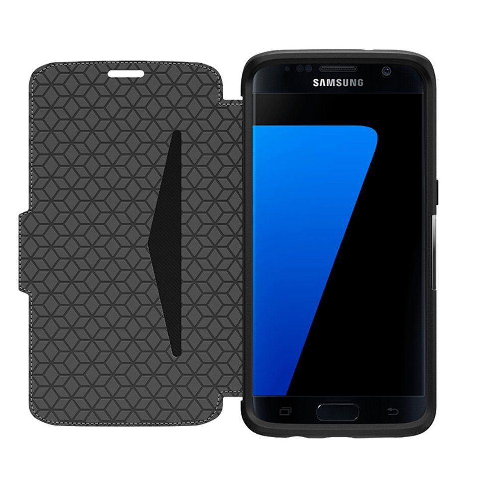 OtterBox Cover »Strada Samsung Galaxy S7 Edge Phantom (schwarz)«