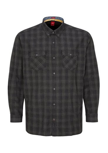S.oliver Red Label Regular: Cotton Shirt With Check Pattern