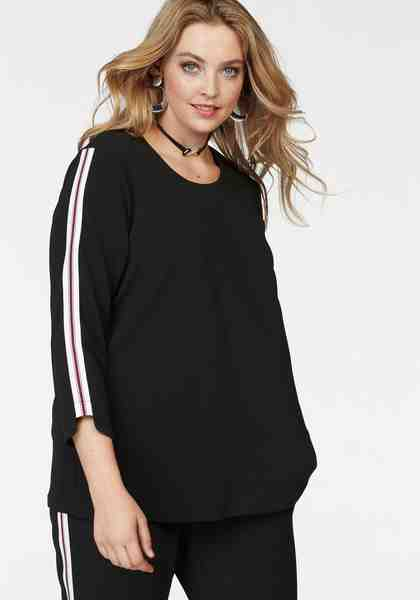Zizzi 3/4-Arm-Shirt »Daisy«