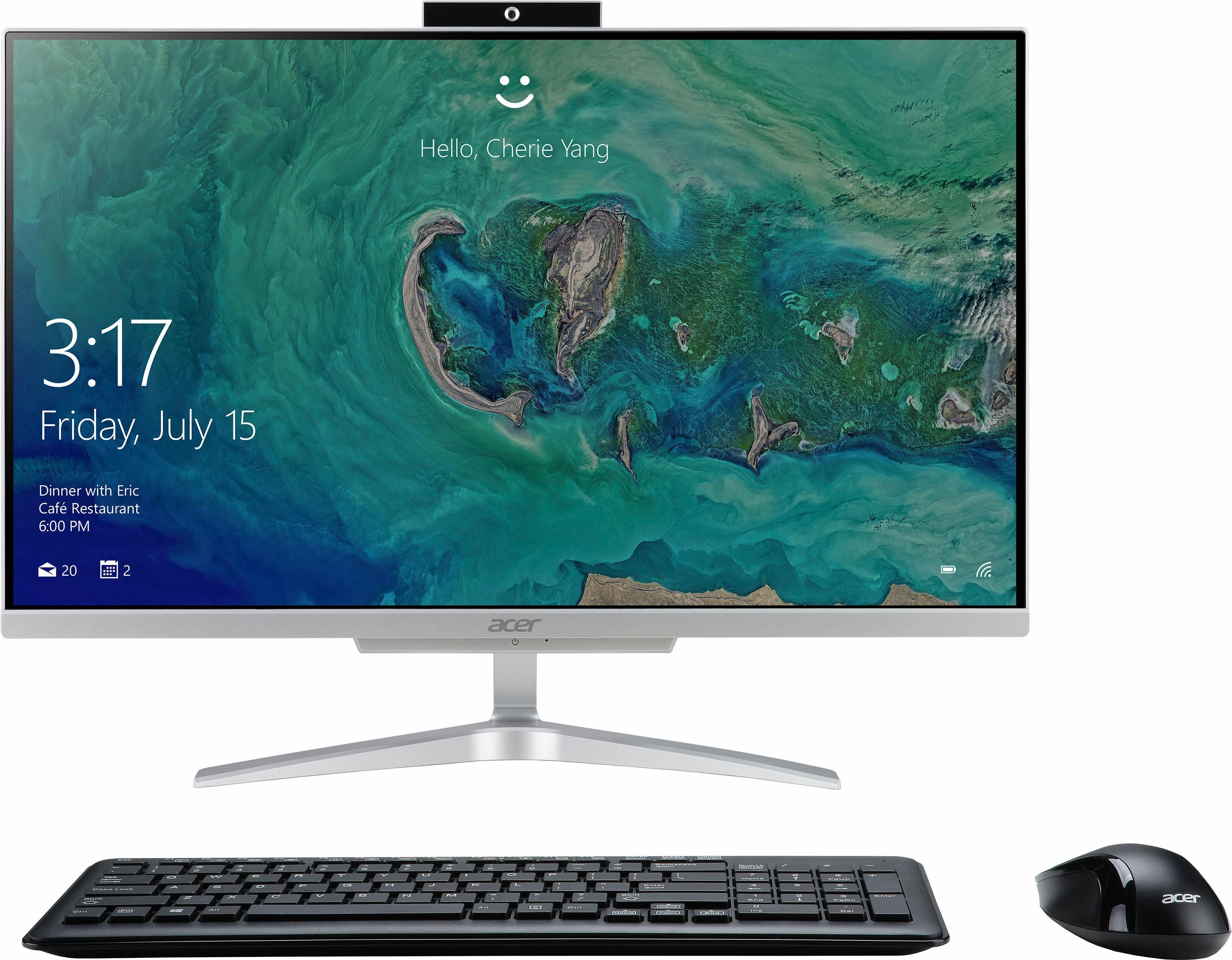 """Acer Aspire C24-860, 24"""" All in One 59,5 cm (23,8 Zoll) All in One PC, Intel® Core™ i5, 8192 MB DDR4"""