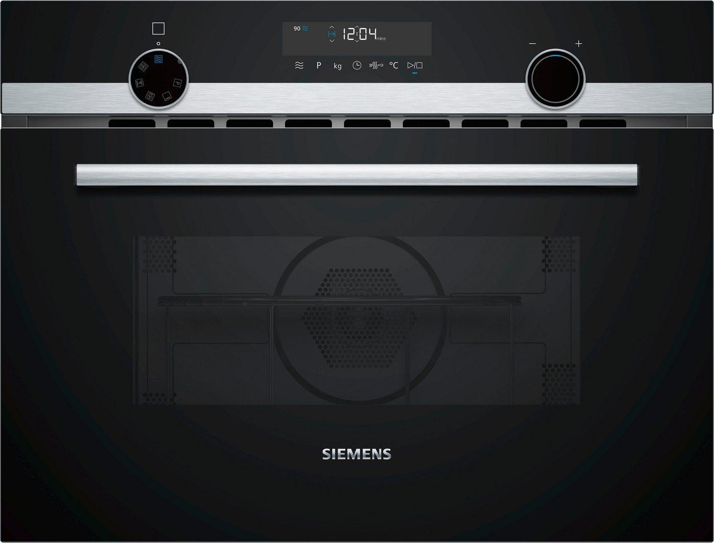 Siemens Kompaktbackofen mit Mikrowelle CM585AMS0 - Preisvergleich
