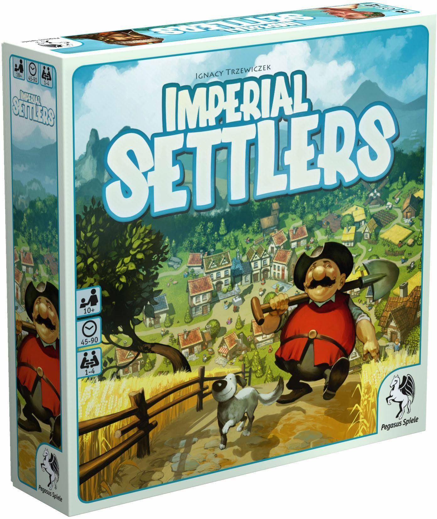 Pegasus Spiele Strategiespiel, »Imperial Settlers«