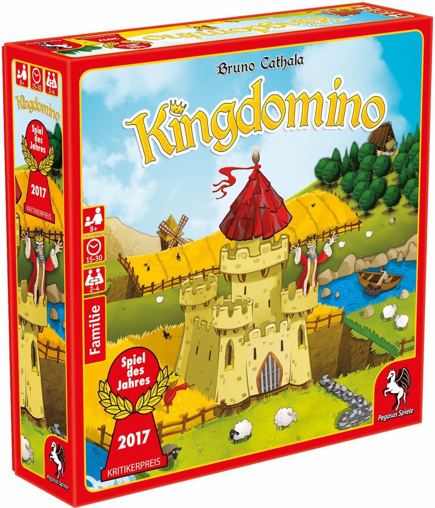 Pegasus Spiele Familienspiel, »Kingdomino«