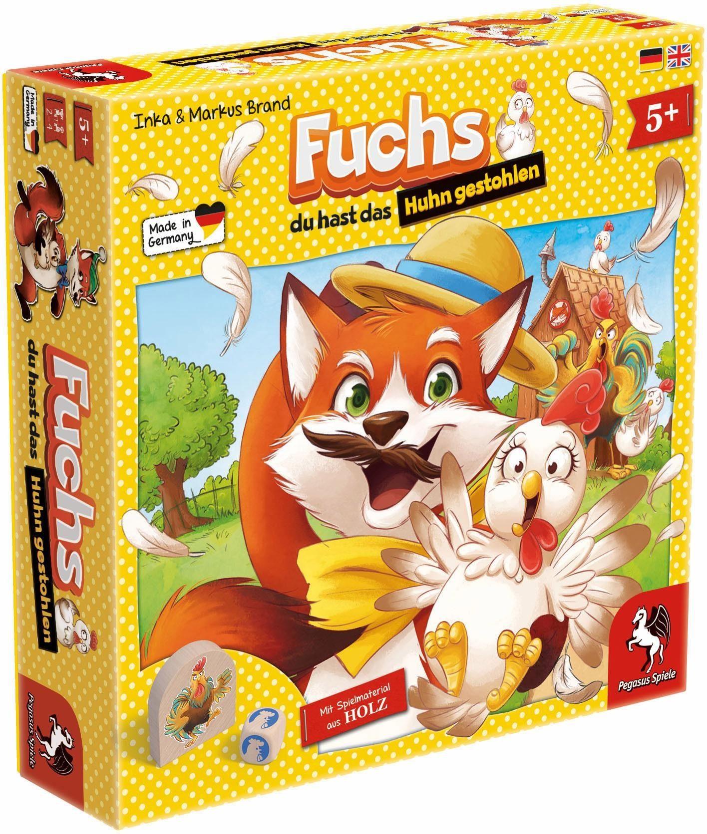 Pegasus Spiele Kinderspiel, »Fuchs du hast das Huhn gestohlen«