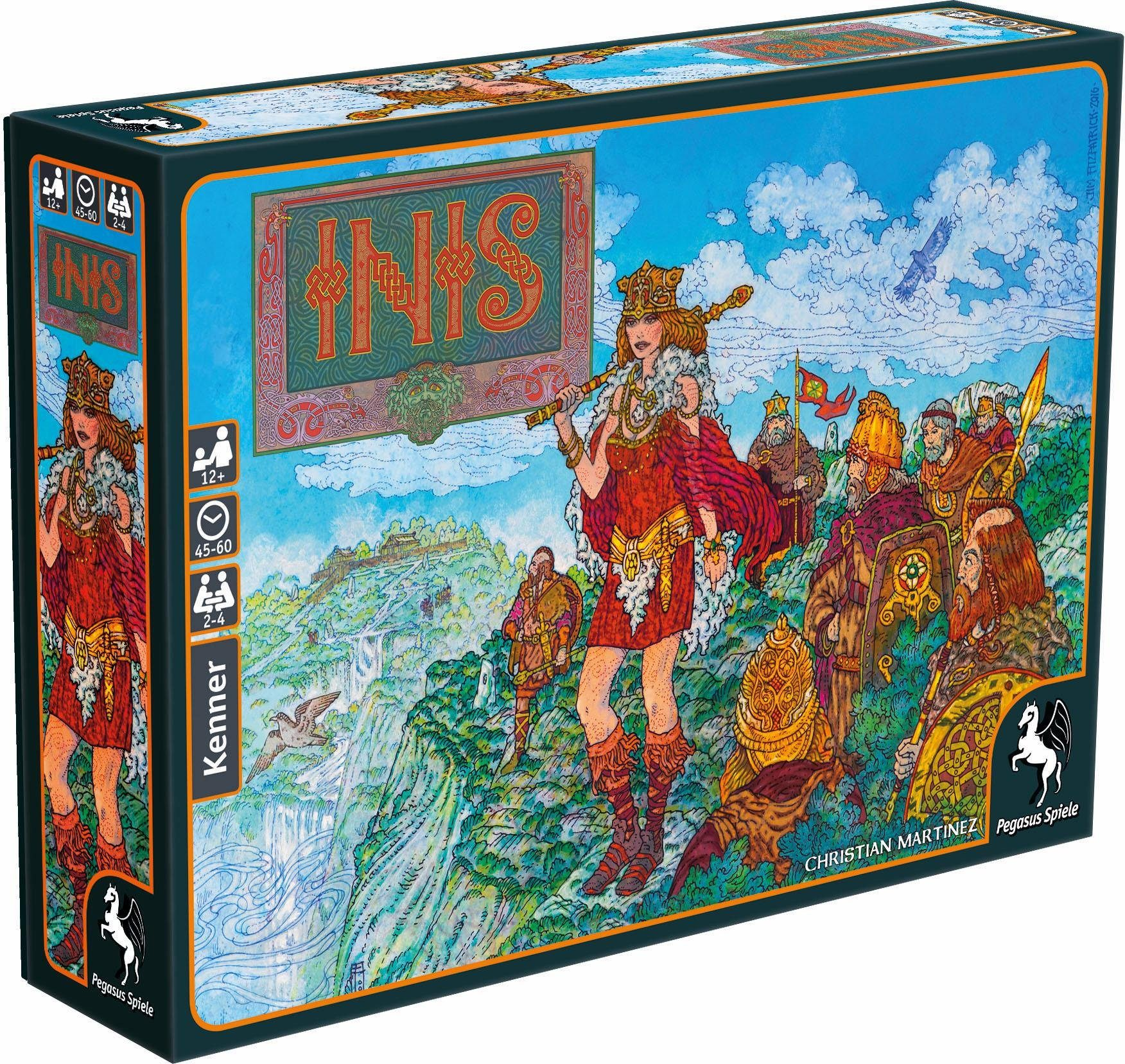 Pegasus Spiele Strategiespiel, »INIS«