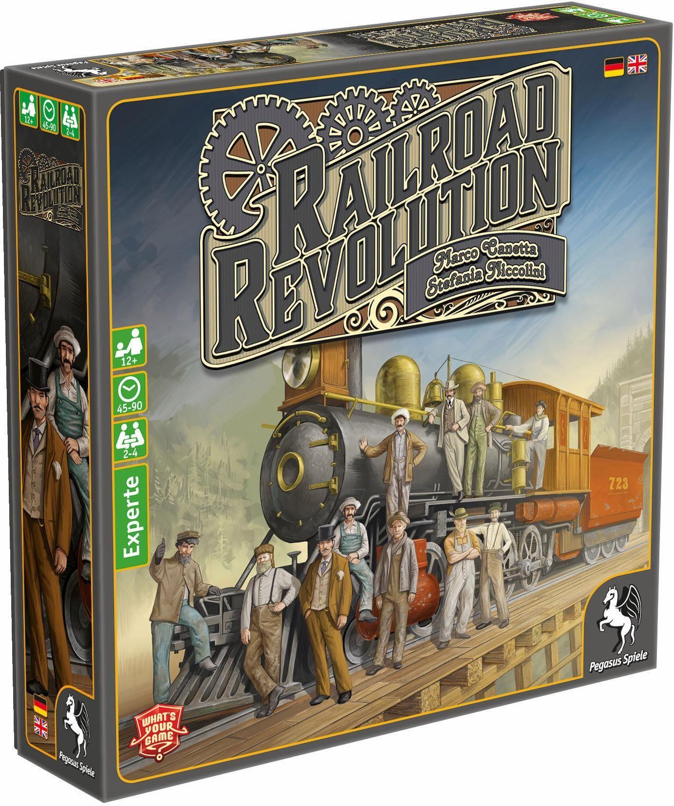 Pegasus Spiele Strategiespiel, »Railroad Revolution«