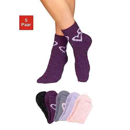 Socken: Kuschelsocken