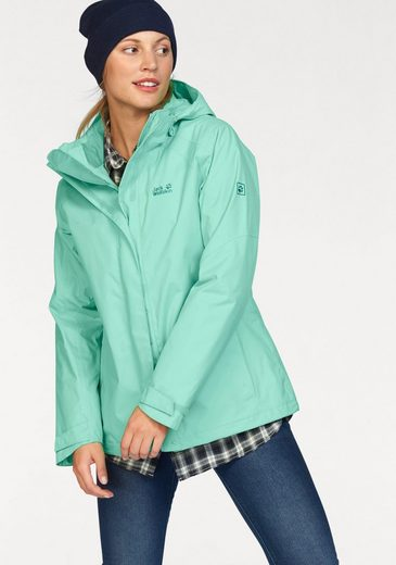 Jack Wolfskin Funktionsjacke THE ESMERALDAS, passend zum 3-in-1 System Short