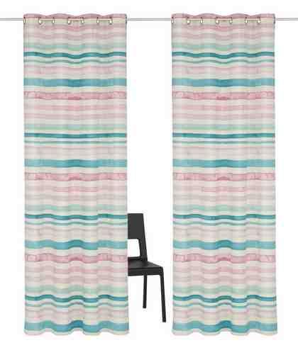 Vorhang, GMK Home & Living, »Garden Stripes«, mit Ösen (2 Stück)