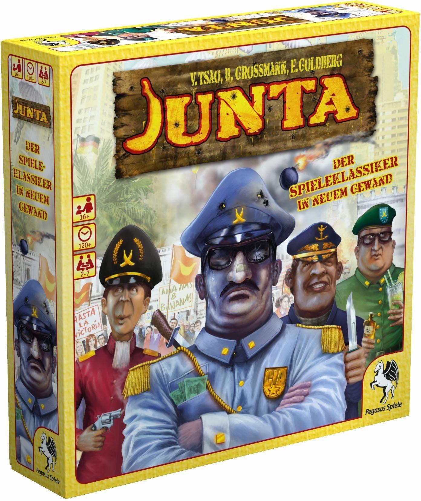 Pegasus Spiele Strategiespiel, »Junta«