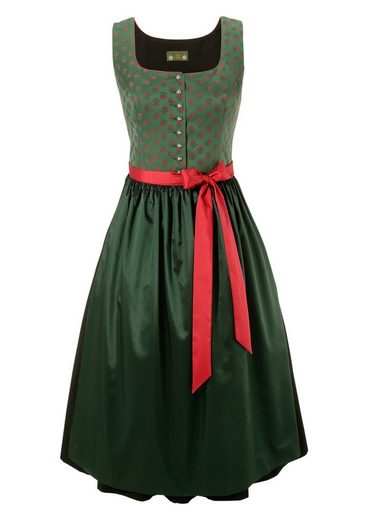 Love Nature Dirndl midi in edlem Look