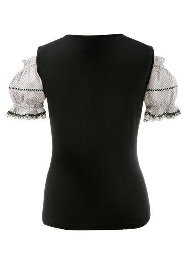 Country Line Trachtenshirt Damen mit Carmenausschnitt
