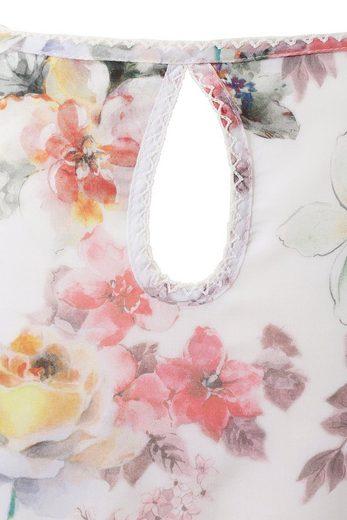 Hohenstaufen Trachtenbluse Damen mit Blumenmuster all-over