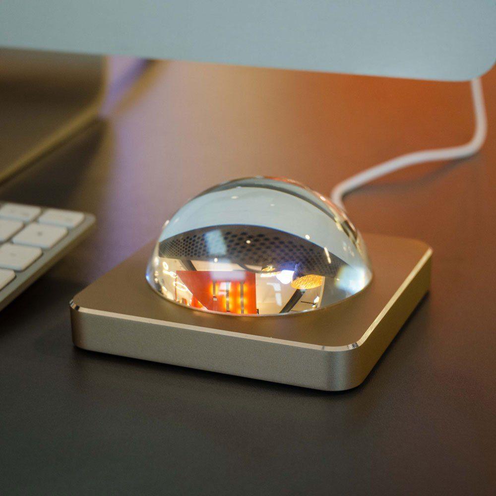 Licht-Trend Tischleuchte »Eye LED mit Touchdimmer in Gold«