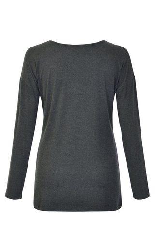 NAVIGAZIONE Rundhalsshirt, kuschelige, weiche Ware