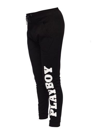 Playboy Stoffhose mit Markendruck