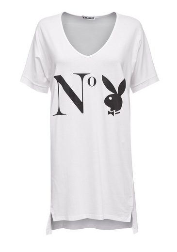 Playboy T-shirt With Stylish Front Print