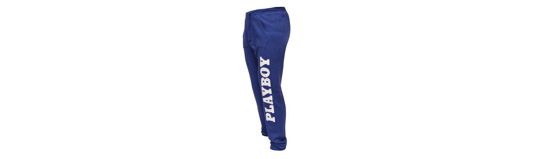 Playboy Stoffhose mit coolem Druck Billig Verkauf Komfortabel Große Diskont Verkauf Online TvfkTU