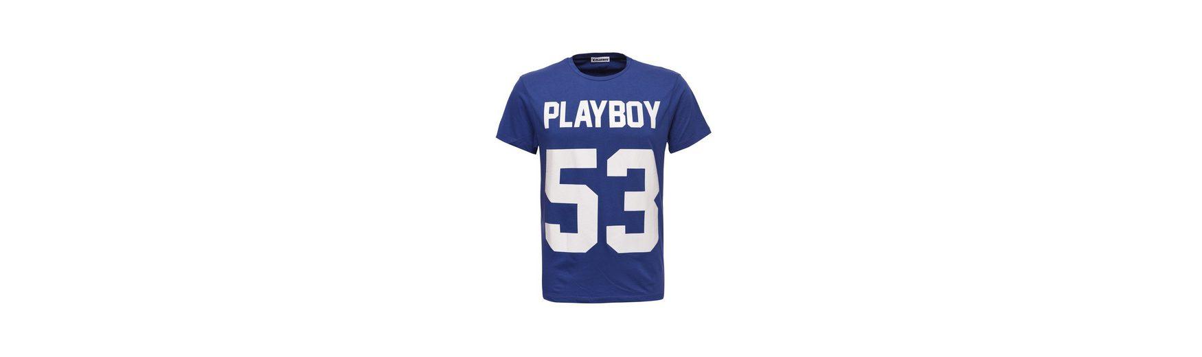 2018 Günstig Online Playboy T-Shirt mit angesagtem Frontdruck Bester Verkauf Nett sn05OZRdR