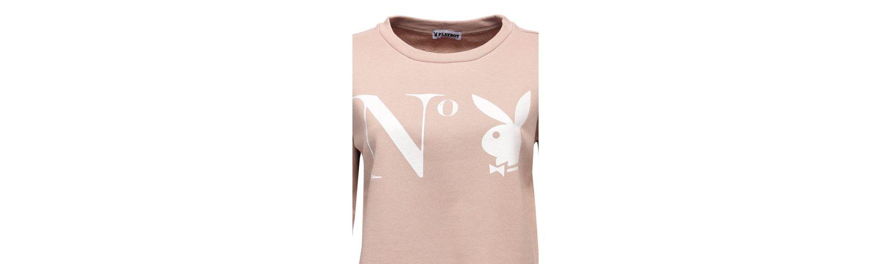 Playboy Sweatshirt mit angesagtem Frontdruck Wiki Günstiger Preis Shop-Angebot Verkauf Online Bester Großhandelsverkauf Online 5ybhQ2