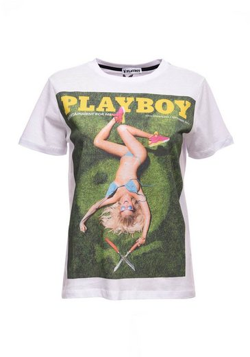 Playboy T-Shirt mit coolem Print