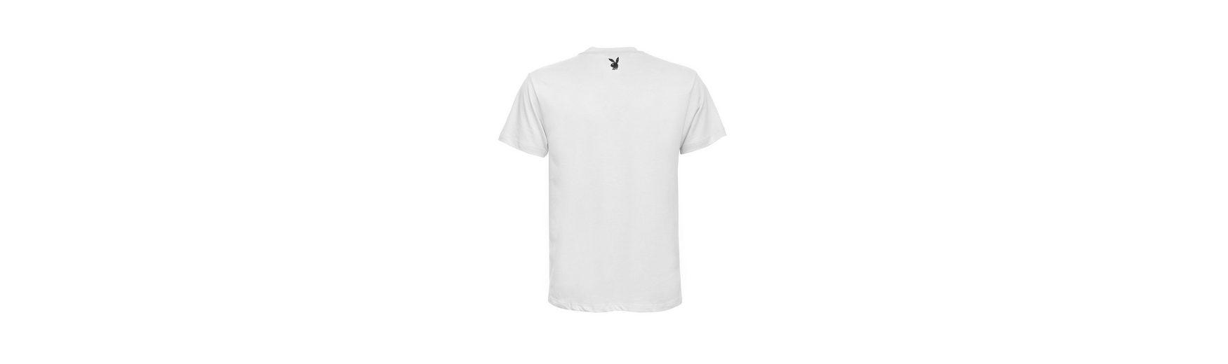 Playboy T-Shirt mit coolem Frontdruck Genießen Professionelle Günstig Online qZcqwRNL