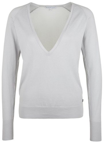 Better Rich Strickpullover V-NECK VOILE