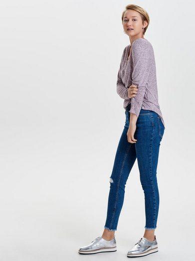 Only Studio2 Hw Destroy Slim Fit Jeans
