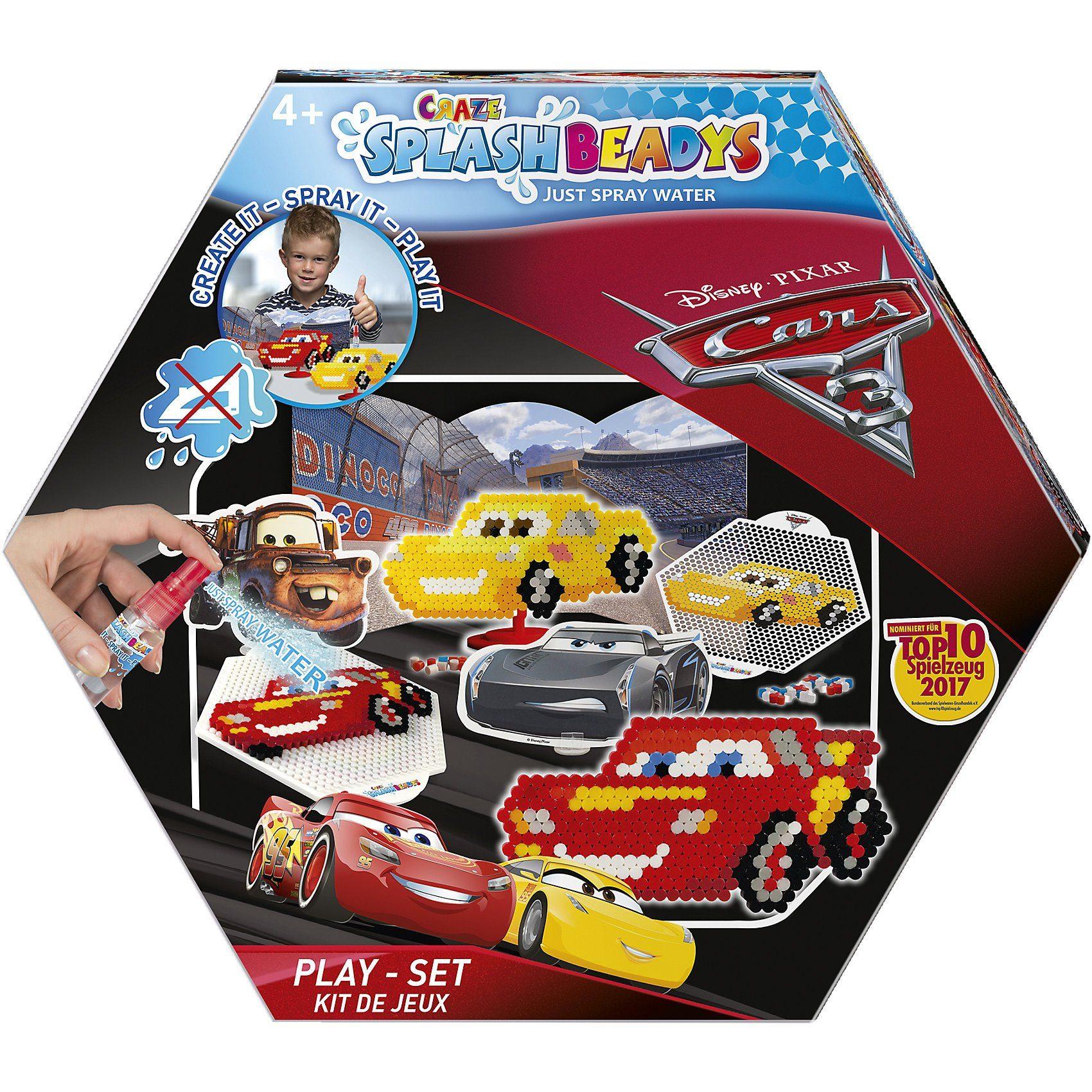 CRAZE Splash Beadys Cars Playset