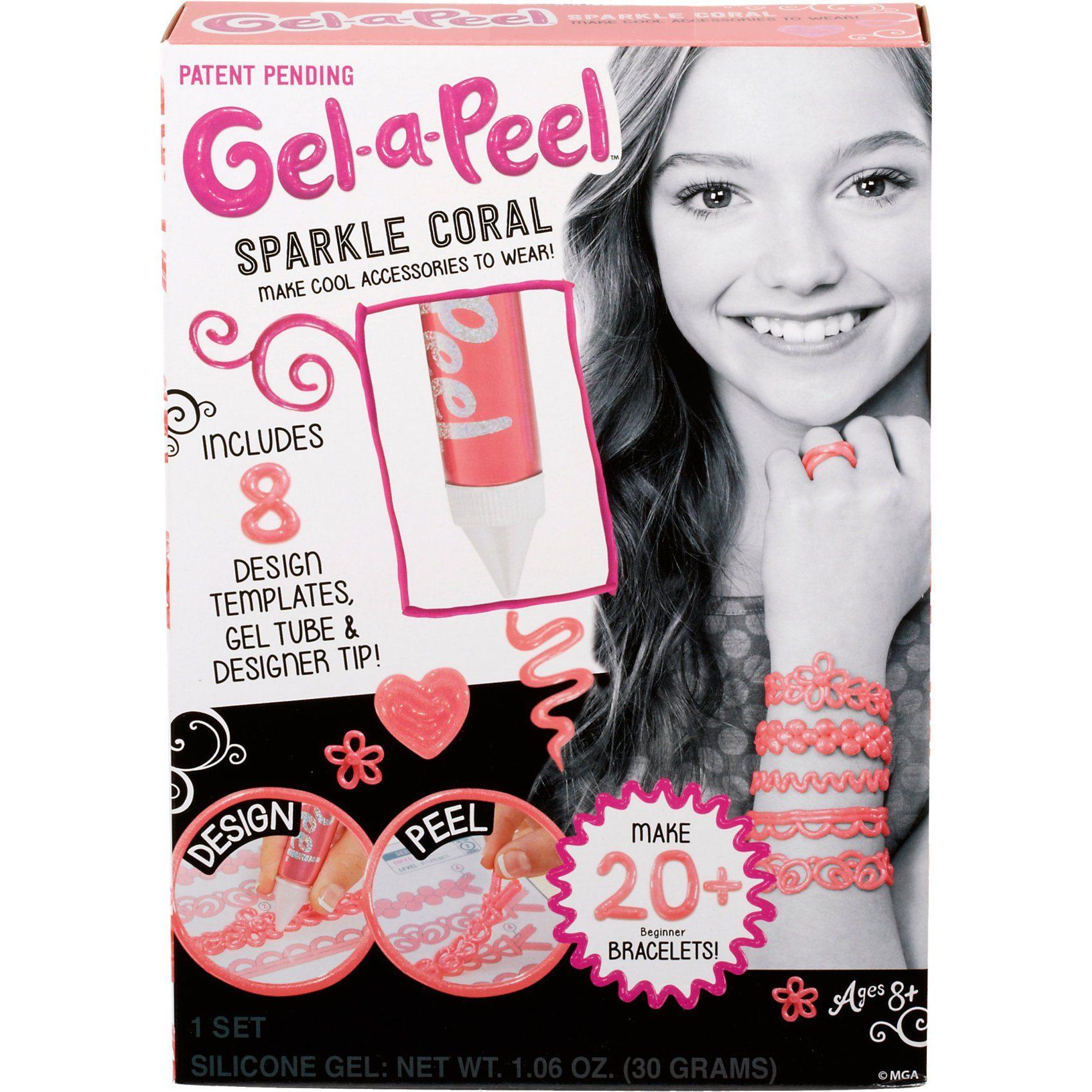 MGA Gel-a-Peel Starter Set Glitzer-Koralle