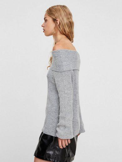 Vero Moda Off-Shoulder- Strickpullover