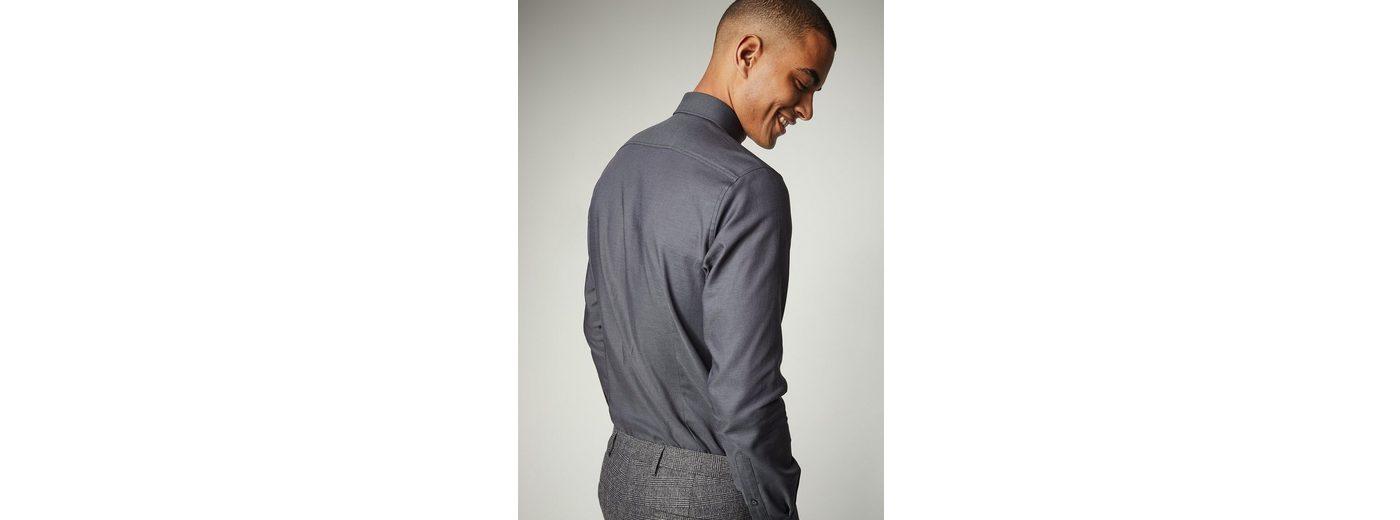 Günstig Kaufen Echt PIERRE CARDIN Hemd in changierender Bicolor-Optik - Modern Fit Billiger Preis Mode Zum Verkauf Verkaufsauftrag oPvjx3q