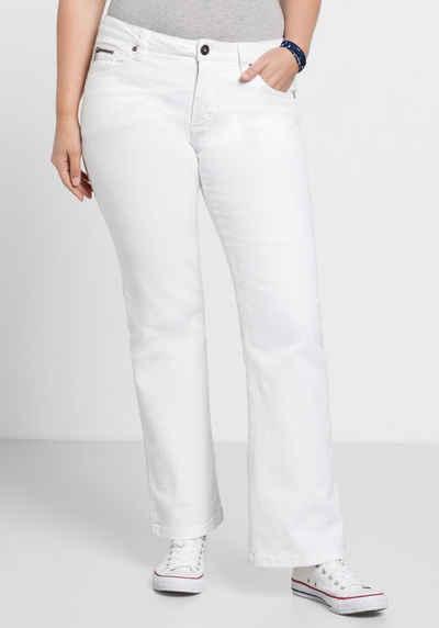 Sheego Bootcut-Jeans MAILA
