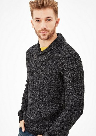 s.Oliver RED LABEL Pullover aus Musterstrick