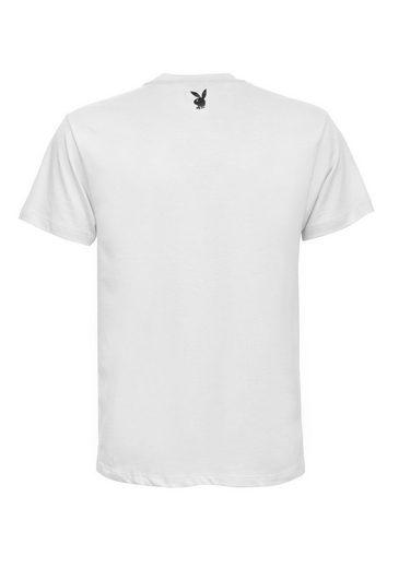 Playboy T-Shirt mit angesagtem Frontdruck